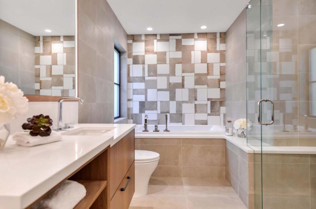 custom home builder bathroom